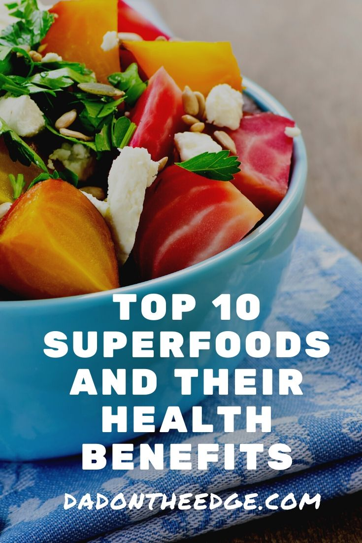 Superfoods and their health benefits