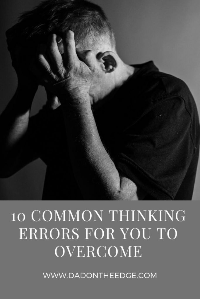 10 Common Thinking Errors PIN