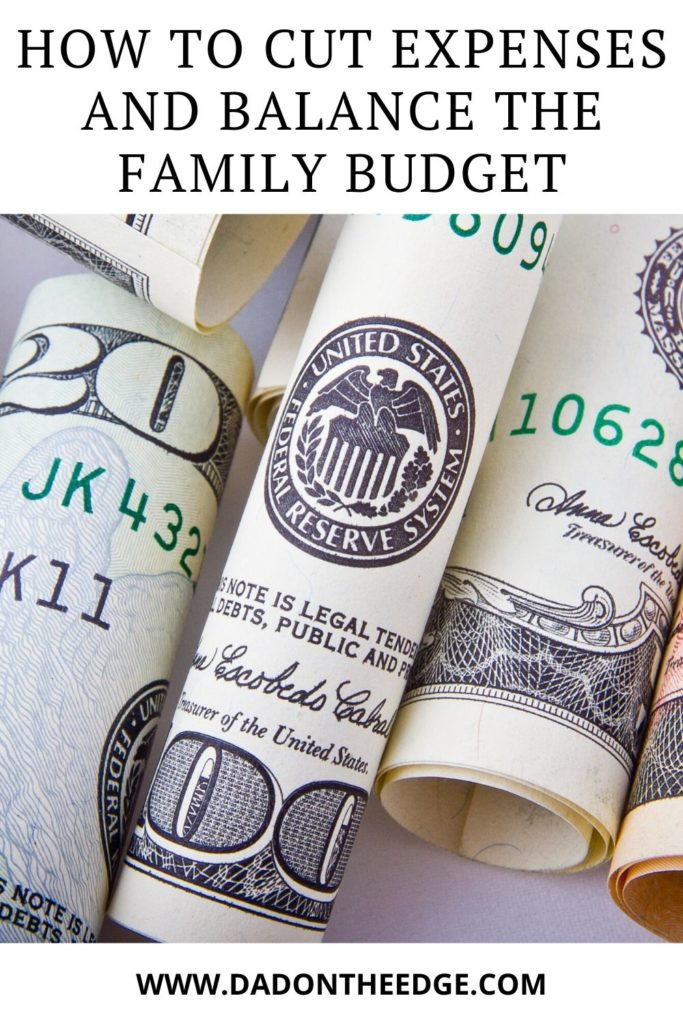 How to cut expenses and balance the family budget