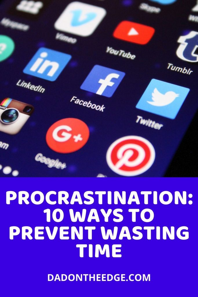 Procrastination_ 10 Ways To Prevent Wasting Time PIN