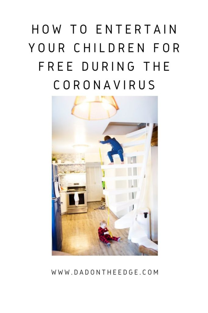 How To Entertain Your Children For Free During The Coronavirus