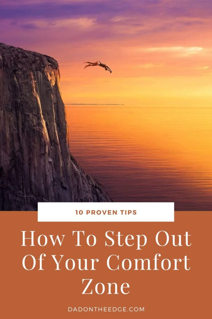 How To Step Out Of Your Comfort Zone PIN